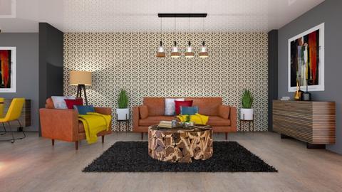 andys living room v1      - Modern - Living room - by Mark T