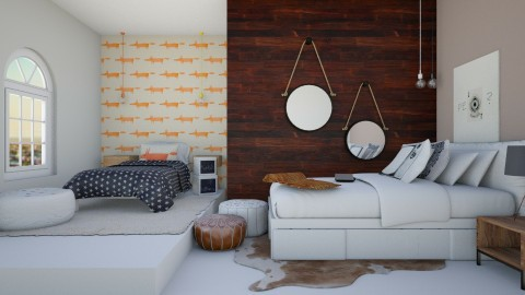 Shared Room - Eclectic - Kids room - by love Tully love