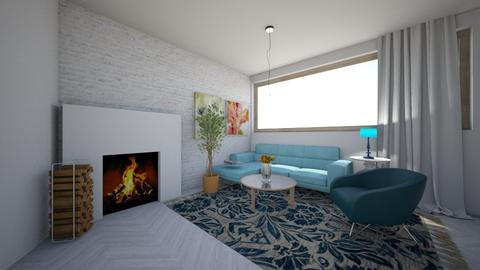 BB - Modern - Living room - by TeodoraYord