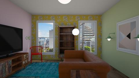 Draft - Eclectic - Living room - by 2008665