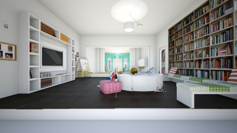 living room student house - Living room - by sarasepideh