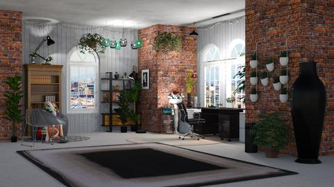 Indoor plants - Office - by orandorango