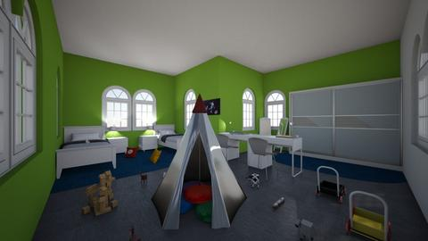 Brother room  - Masculine - Kids room - by Lena2020