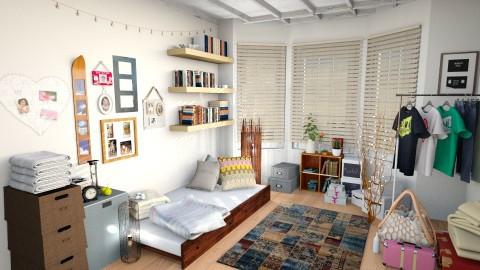 just moved in - Bedroom - by Inokentijroom