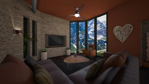 Canyon - Eclectic - Living room - by timeandplace