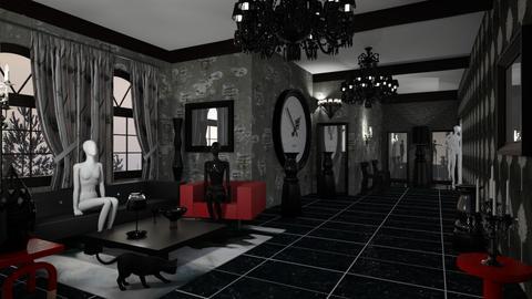 Halloween Hallway - by Snowbell
