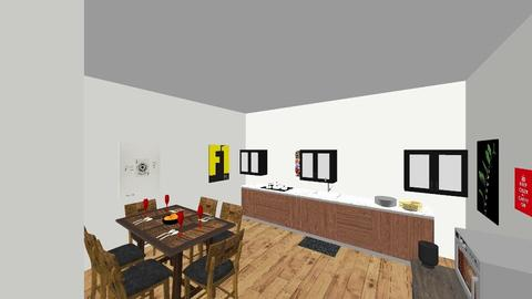 romm 2 - Kitchen - by ayrie240