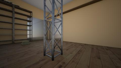 office - Rustic - Office - by jackieureta