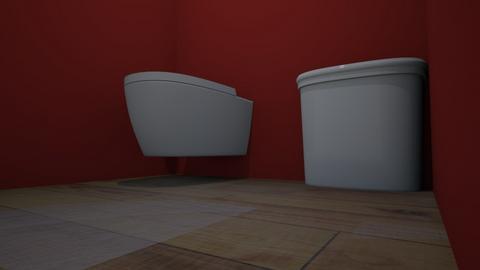 he heee - Bathroom - by AbigailMcmahon