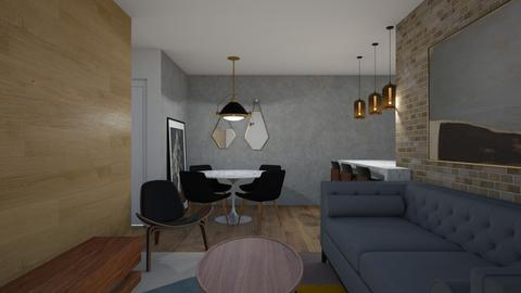 Abbey - Living room - by aletamahi