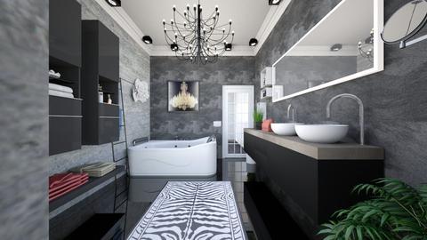bathroom onyx front 2 - Minimal - Bathroom - by Vasile Bianca Rozalia