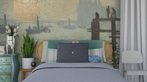 Monet - Classic - Bedroom - by HenkRetro1960