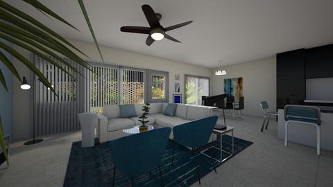 Marsala - Masculine - Living room - by Daisy de Arias