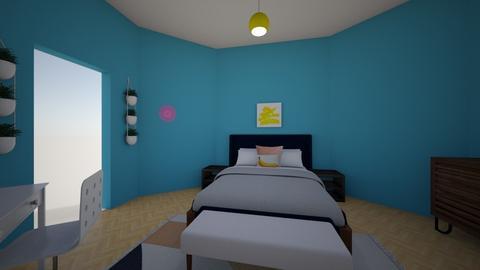 modern bedroom - Modern - Bedroom - by kodeso