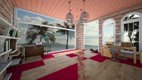 Sea Panorama - Vintage - Office - by sabirin12
