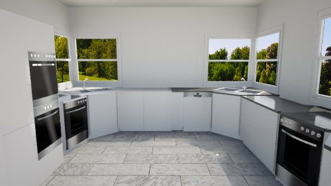 render test - Modern - Kitchen - by Bibiche