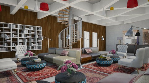 Polodilly Hotel - Eclectic - Living room - by 3rdfloor