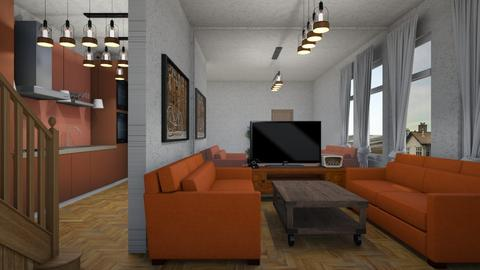 vintage ish - Living room - by cguy67