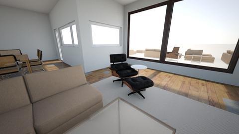 Lauren and Ewell - Living room - by jschrader