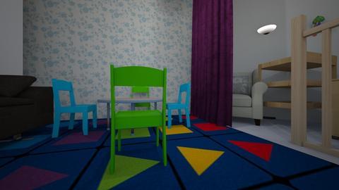 pokoj dla dziecka - Classic - Kids room - by jozeff