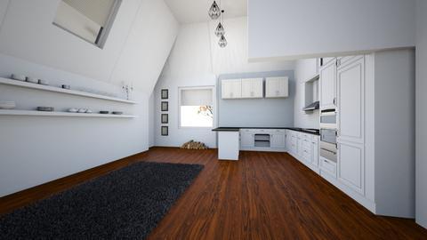 Percy street example - Living room - by vladahoroshevska