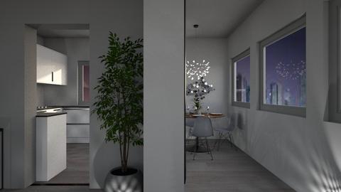 Grey Apartment 3 - Kitchen - by millerfam