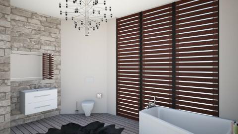 modern bathroom - Modern - Bathroom - by Nikodem Chudy