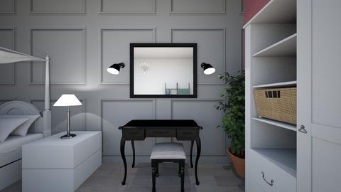 projekt - Bedroom - by kinia21