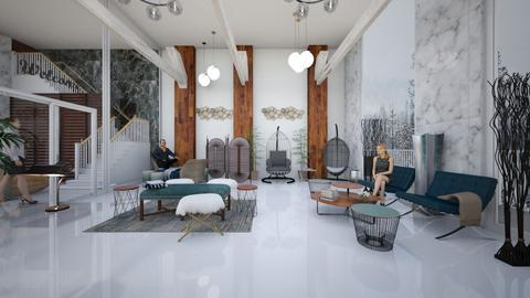 Scandinavian Hot Springs  - by P_O_F Interiors