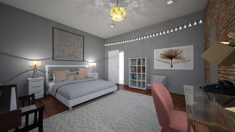 S Room - Bedroom - by zoe128