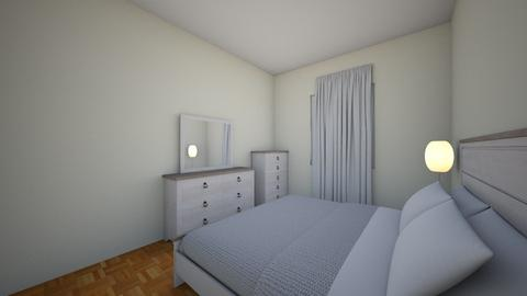 Bedroom White King Bed - Bedroom - by arifbmb