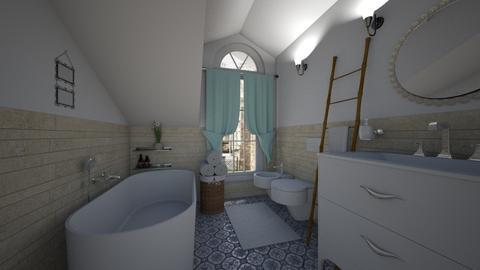 attic bathroom - Eclectic - Bathroom - by bibi_pat