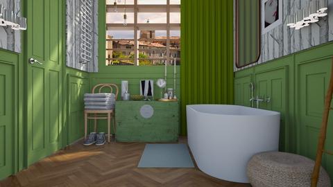 Enlightened - Modern - Bathroom - by HenkRetro1960