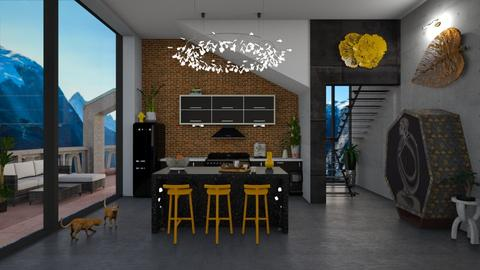 Brix - Kitchen - by Nicky West