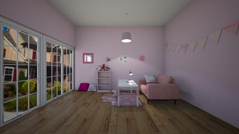 Pinkish - Kids room - by New York Mets