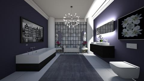 classy bathroom - Bathroom - by erladisgudmunds
