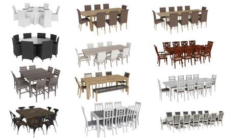 PA party dining sets - by bpgarqs