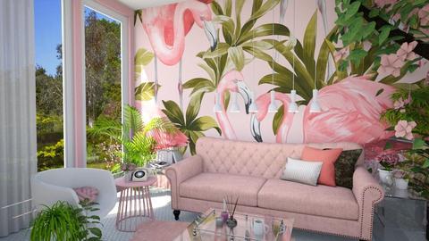 Playful living - Modern - Living room - by tieganclayton