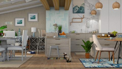 Nautical Kitchen - Modern - Kitchen - by millerfam