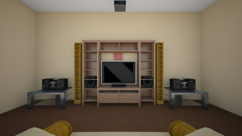 Home Theater - Classic - Living room - by johnnymusicman