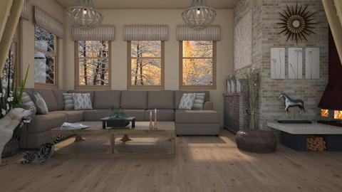 Design 405 Artisan Flooring One - Living room - by Daisy320
