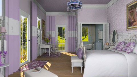 Sweet Sleep - Classic - Bedroom - by Bibiche