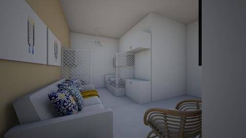 beach - Living room - by luu