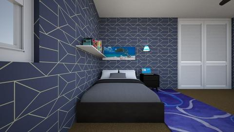 Byrons Room - Modern - Bedroom - by senewby