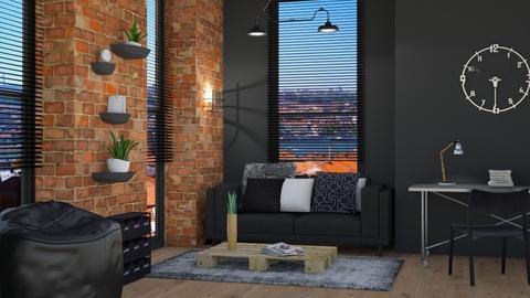 ARTISAN FLOORING template - Living room - by rasty