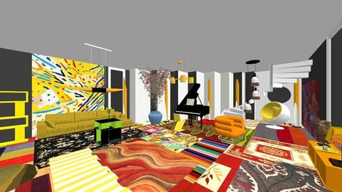 Mildred Thompson - Living room - by ekaterine