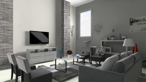 depra2f - Living room - by Anghela Cruz