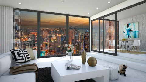Simplicity in the city - Modern - Living room - by bgref
