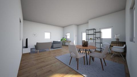 Gray - Living room - by seventeen_caratluv