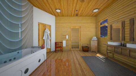 Banff - Rustic - Bathroom - by Tree Nut